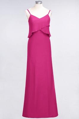 Elegant Halter Chiffon Long Bridesmaid Dress BM1576_9