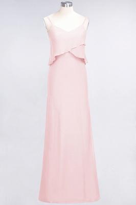Elegant Halter Chiffon Long Bridesmaid Dress BM1576_3
