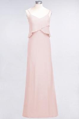 Elegant Halter Chiffon Long Bridesmaid Dress BM1576_5