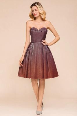 Glamorous Sweetheart Sleeveless Backless Prom Dresses  A-Line Short Formal Dresses_6