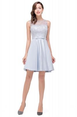 Sleeveless Short Zipper Elegant Lace Homecoming Dress_1