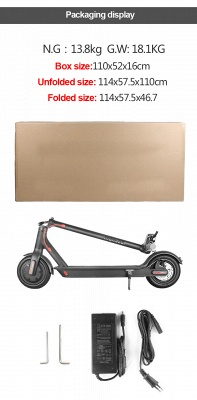 In Stock Electric Scooters For Adult Kids 250W High Speed Light Weight Portable Scooters_11