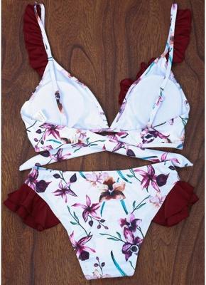 Women Floral Bikini Set UK Push Up Padded Bodycon Bathing Suit UK Swimsuits UK Bathing Suit UK_3