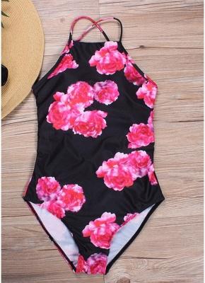 Women One Piece Bathing Suit UK Swimsuits UK Lacing Up Sexy Backless Bathing Suit UK_2