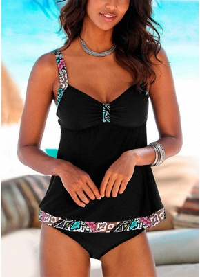Sweetheart Wireless Padded Push Up Strap Hot Swimsuits UK Suit_1