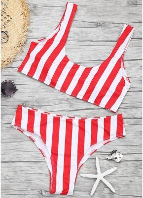 Womens Color Block Bikini Set Push Up Padded Swimsuit Bathing Suit Swimsuit_1