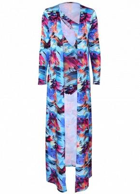 Women Floral Paint Tank Top Set Bathing Suit UK Beach Cover Up Bathing Suit UKs_6