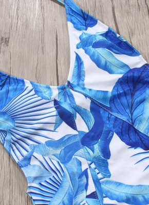 Women One Piece Bikini UK Swimsuits UK Floral Sexy Backless Strappy Monokini Bathing Suit UKs Beach Wear_5