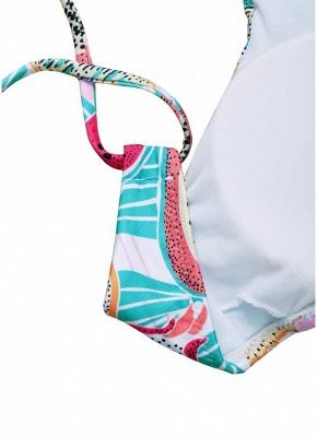 Women Fruit Printed Bikini Set UK Halter Bathing Suit UK Padded Tank Top Bathing Suit UK fr_4