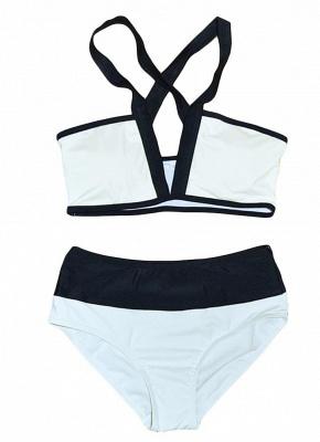 Hot Women Bikini Set UK Color Splice Wireless Bathing Suit UK Bathing Suit UKs Tank Top_4