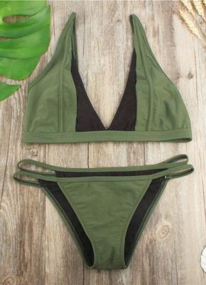 Brazilian Mesh Splice Cut Out Bandage Bikini Set_3