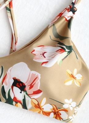 Women Tank Tops Floral Bathing Suit UK Tassel Bikini Set UK Bathing Swimsuits UK_4