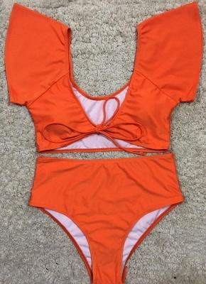 Hot Women Bikini Set UK Bathing Suit UK Push Up Swimsuits UK Solid&Leopard&Stripe Bodycon Beach Wear Bathing Suit UK_2