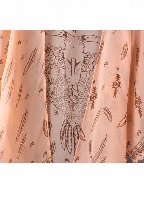 Women Summer Shirt Kimono Beach Cover Up Outerwear_8