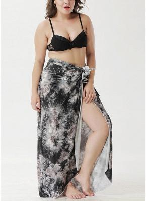 Printed Cover Up Bikini Cover-up Skirt_1
