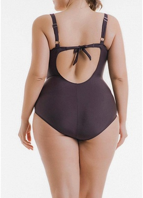 Women Big One Piece Bathing Suit UK Leopard Print Monokini Swimsuits UK Bathing Suit UK_3