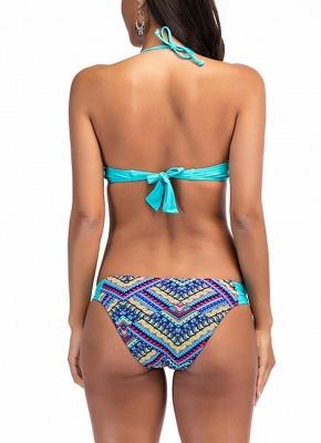 Modern Women Bikini Set Padded Top Bottom Beach Swimwear Swimsuit Bathing Suit_3
