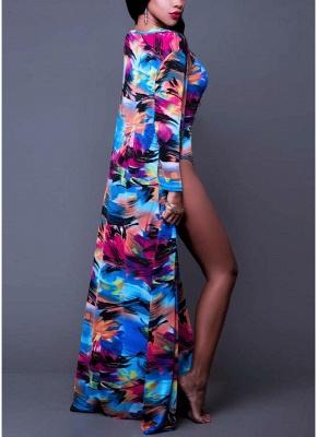 Women Floral Paint Tank Top Set Bathing Suit UK Beach Cover Up Bathing Suit UKs_3