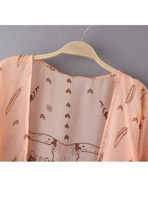 Women Summer Shirt Kimono Beach Cover Up Outerwear_7