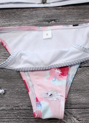 Hot Women Bikini Set UK Floral Striped Splice Strappy Wireless Bathing Suit UK Bathing Suit UKs Tank Top Beach Wear_4