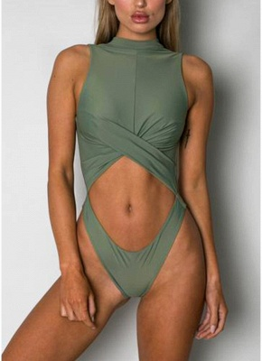 Women One Piece Bathing Suit UK Swimsuits UK High Neck Monokini Sexy Backless Bathing Suit UK_5
