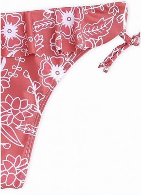 Women Bikini Set UK Ruffled Floral Bodycon Swimsuits UK Bathing Suit UK Bathing Suit UK_4