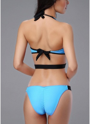 Front Zipper Sexy Open Back Cut Out Low Waist Womens One Piece Swimsuit_6