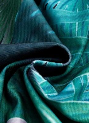 Women Strapless Bathing Suit UK with Leaves Printed Shorts Bikini Set UK Swimsuits UK Bathing Suit UK_4