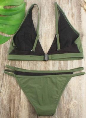 Brazilian Mesh Splice Cut Out Bandage Bikini Set_4