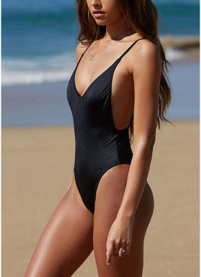 Women One Piece Bathing Suit UK Sexy Backless Swimsuits UK Plunge Neck Bathing Suit UK Beachwear Monokini_4