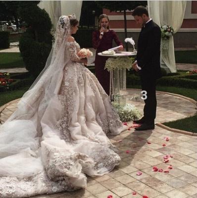 Gorgeous Princess Wedding Dresses_5