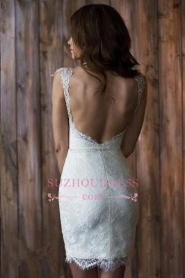Crystals Overskirt Tulle V-neck Detachable Bridal Dresses Cap Sleeve Belt  Wedding Dresses_5