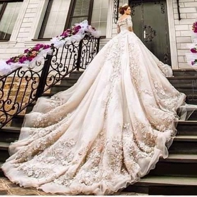 Gorgeous Princess Wedding Dresses_1