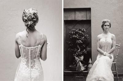 Vintage Spaghetti Strap Mermaid Wedding Dress New Arrival Lace Court Train Bridal Gown_4