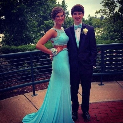 Gorgeous  Two Piece  Prom Dress with Beading New Arrival Formal Occasion Dresses AE0111_3