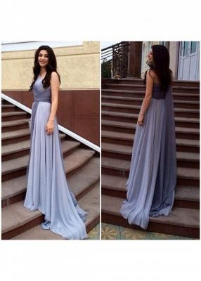 Junoesque Multi Colors One Shoulder Prom Dresses Popular Ombre Bridesmaid Dress_4