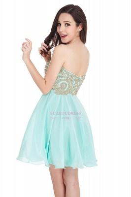 Sweetheart Cheap Mini Short Appliques Homecoming Dresses_12