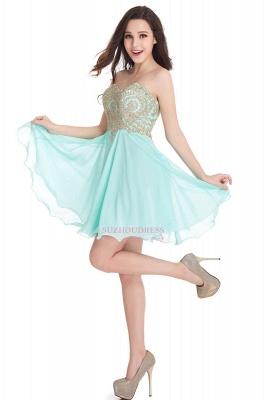 Sweetheart Cheap Mini Short Appliques Homecoming Dresses_11