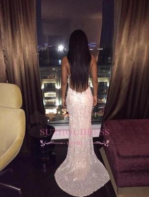 Sexy Spaghetti Straps Foemal Evening Dress Backless V-Neck Prom Dress  BA4540_4