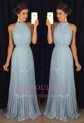 Halter Gorgeous Sleeveless Long Floor-Length Evening Dress_3