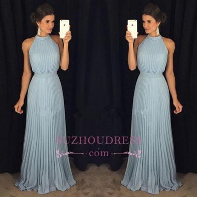 Halter Gorgeous Sleeveless Long Floor-Length Evening Dress_1