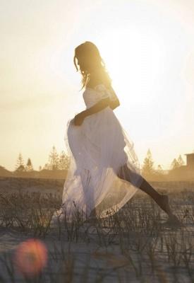 Bateau Short Sleeve White Chiffon Wedding Dress Latest Simple Lace Summer Beach Bridal Gowns_3