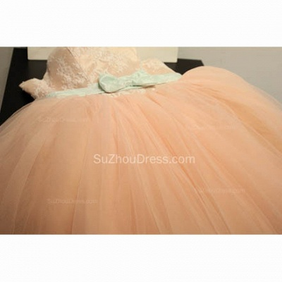 Cute Sweetheart Lace Tulle Short Cocktail Dresses with Bowknot Lace-up Pink Homecoming Dresses for Juniors_4