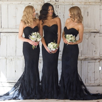 Sweetheart Pretty   Bridesmaid Dresses Lace Sexy Maid Of Honor Dresses Online_5