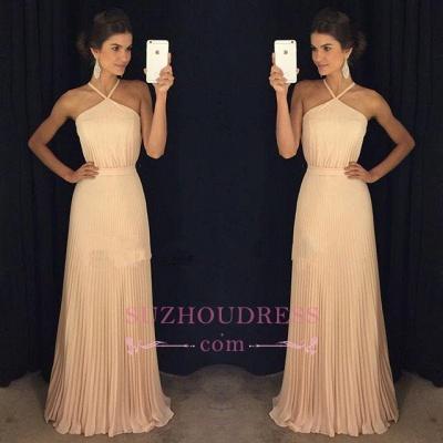 Floor-Length Halter Gorgeous Long Prom Dress GA095 BA6450_1