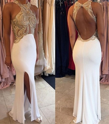 Sexy Halter Backless Evening Dress New Arrival Sleeveless Long Formal Occasion Dresses AE0140_1
