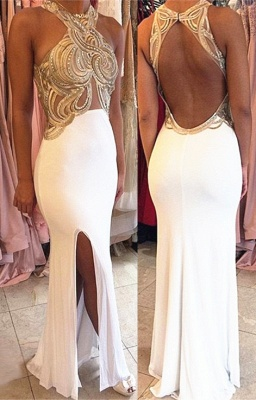 Sexy Halter Backless Evening Dress New Arrival Sleeveless Long Formal Occasion Dresses AE0140_3