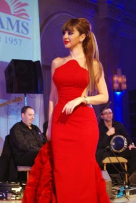 Latest Mermaid Red Sexy Evening Dress Ruffles Custom Made Party Dress with Train_6