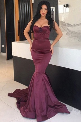 New Arrival Mermaid Evening Dresses  | Sweetheart Beads Sexy Prom Dresses Cheap_1