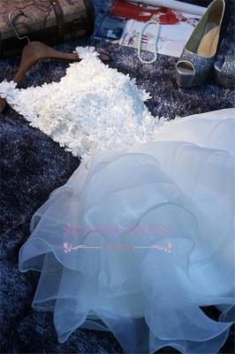 Elegant Sleeveless Ruffles Flowers A-Line Homecoming Dress with Beadings_2